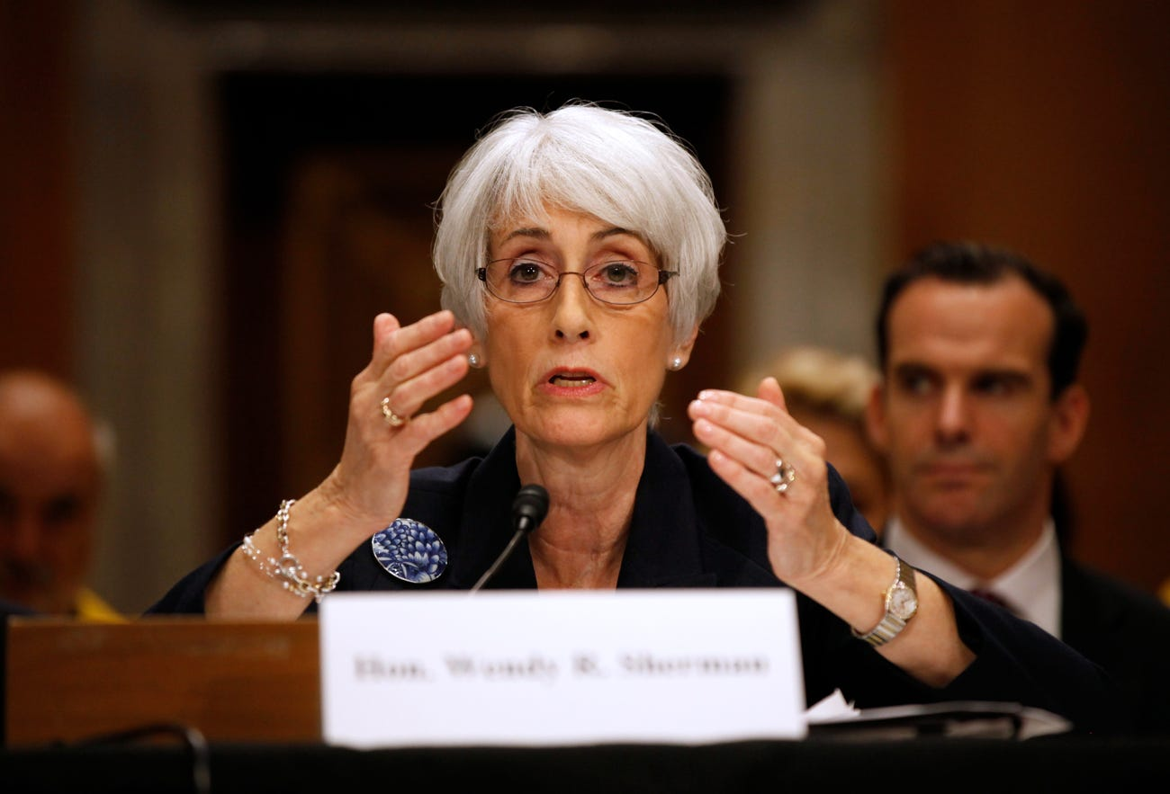 Wendy Sherman during Iran negotiations